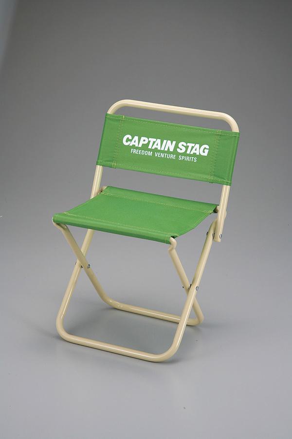 パレットレジャーチェア 中 ライトグリーン CAPTAIN STAG
