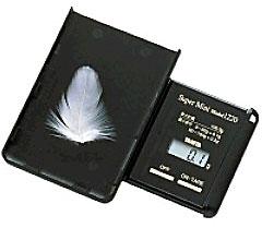 タニタ カードサイズポケッタブルスケール スーパーミニ【1220-BK】