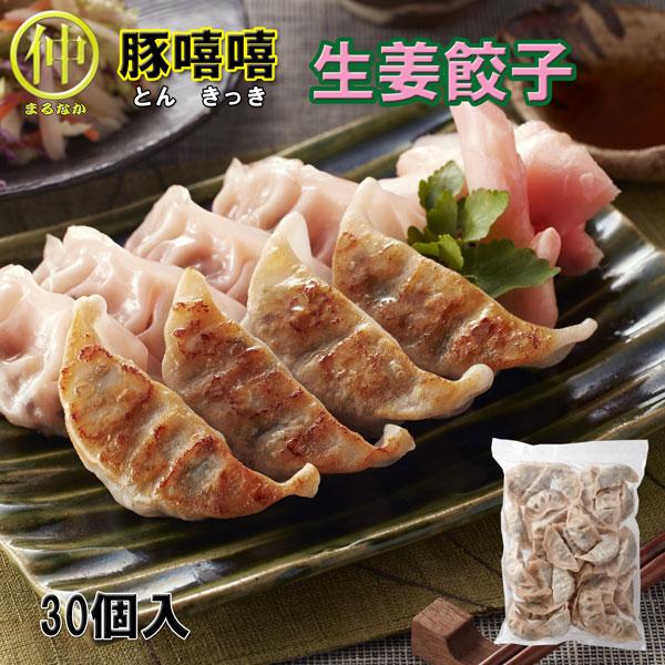 作りたての宇都宮餃子がご家庭でお楽しみいただけます 豚きっき 爆買い新作 1粒18g 30個入生姜餃子 上等