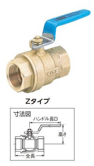 キッツ エコボールバルブ600型 #3【Z80A】 販売単位:1個(入り数:-)JAN[4981209034316](キッツ バルブ) (株)キッツ【05P03Dec16】