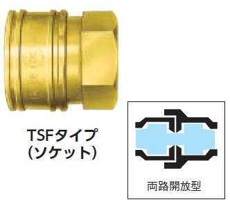 日東 TSP型カプラ【BSBM10TSF】 販売単位:1個(入り数:-)JAN[4992338006112](日東 カップリング) 日東工器(株)【05P03Dec16】