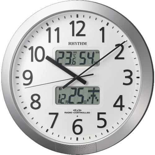 RHYTHM プログラムオフィス404【4FN404SR19】 販売単位:1個(入り数:-)JAN[4903456200429](RHYTHM 掛時計) リズム時計工業(株)【05P03Dec16】
