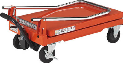 TRUSCO 軽量ハンドリフター 120kg 折りたたみ式350X570【HLFN120】販売単位:1台 JAN[4989999017991]移動式リフター【05P03Dec16】