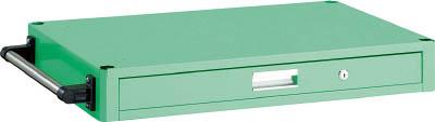 TRUSCO フレックスワゴン 薄型1段引出750X500 YG色【FLW2ZYG】販売単位:1台 JAN[4989999127485]パイプ式ワゴン【05P03Dec16】