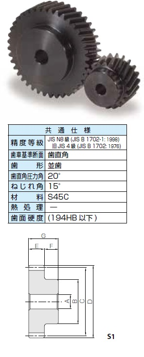 KHK はすば歯車SHシリーズ モジュール2【SH2-90R】販売単位:1個 JAN[-](KHK 歯車)小原工業(株)【05P03Dec16】