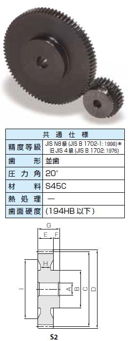 KHK 平歯車SSシリーズ モジュール3【SS3-66】販売単位:1個 JAN[-](KHK 歯車)小原工業(株)【05P03Dec16】
