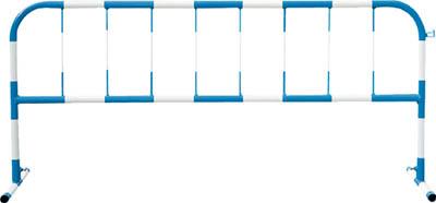 トーグ カラーパイプバリケード白反射青【CB1】 販売単位:1台(入り数:-)JAN[4571296724667](トーグ 工事用フェンス) トーグ安全工業(株)【05P03Dec16】