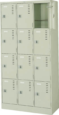 ナイキ 3連4段ロッカー【LK12NG】 販売単位:1台(入り数:-)JAN[4947809400814](ナイキ ロッカー) (株)ナイキ【05P03Dec16】
