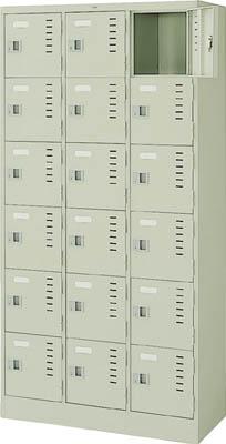 ナイキ 3連6段ロッカー【LK18NG】 販売単位:1台(入り数:-)JAN[-](ナイキ ロッカー) (株)ナイキ【05P03Dec16】