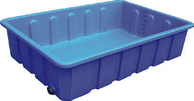 ダイライト R型角型容器 排水栓付40A【RL600】 販売単位:1個(入り数:-)JAN[-](ダイライト 角槽) ダイライト(株)【05P03Dec16】