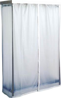 キャニオン ステンレスハンガーラック カーテン付【SHR2562K】 販売単位:1台(入り数:-)JAN[-](キャニオン ステンレスハンガー) (株)キャニオン【05P03Dec16】