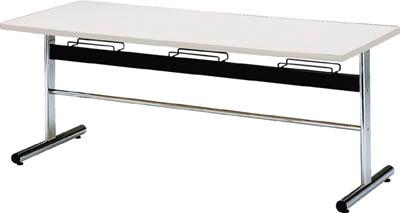 TOKIO 食堂用テーブル ソフトエッジ 2400×750mm ホワイト【DA2475W】 販売単位:1台(入り数:-)JAN[4942646131259](TOKIO 食堂用テーブル) 藤沢工業(株)【05P03Dec16】
