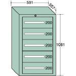OS 軽量キャビネット【51002】 販売単位:1台(入り数:-)JAN[-](OS キャビネット) 大阪製罐(株)【05P03Dec16】
