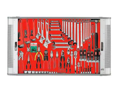KTC メカニキット(一般機械整備向)【MK81A】 販売単位:1S(入り数:-)JAN[4989433934754](KTC ボードタイプ) 京都機械工具(株)【05P03Dec16】