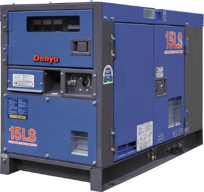 デンヨー 防音型ディーゼルエンジン発電機【DCA15LSK】 販売単位:1台(入り数:-)JAN[-](デンヨー ディーゼル発電機) デンヨー(株)【05P03Dec16】