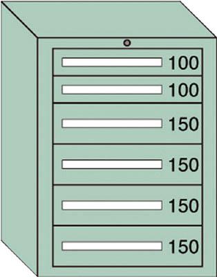 OS 軽量キャビネット5型 最大積載量400kg 引出し2×4段【5804】 販売単位:1台(入り数:-)JAN[-](OS キャビネット) 大阪製罐(株)【05P03Dec16】