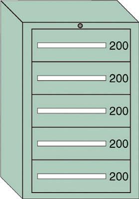 OS 中量キャビネット7型 最大積載量1000kg 引出し5段【71002】 販売単位:1台(入り数:-)JAN[-](OS キャビネット) 大阪製罐(株)【05P03Dec16】