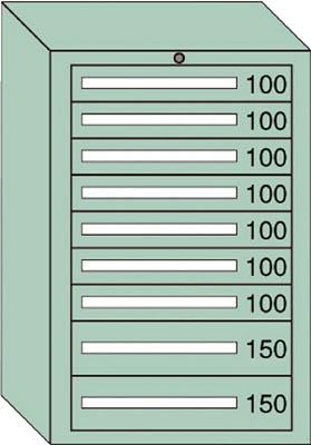 OS ミドルキャビネットMD型 最大積載量1000kg 引出し7×2段【MD1012】 販売単位:1台(入り数:-)JAN[-](OS キャビネット) 大阪製罐(株)【05P03Dec16】