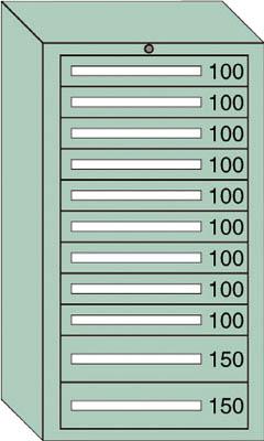 OS ミドルキャビネットMD型 最大積載量1200kg 引出し9×2段【MD1216】 販売単位:1台(入り数:-)JAN[-](OS キャビネット) 大阪製罐(株)【05P03Dec16】