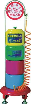 シンヤ 空気入れ げんき21 KC-310【KC310】 販売単位:1台(入り数:-)JAN[-](シンヤ 自転車置場) (株)新屋製作所【05P03Dec16】