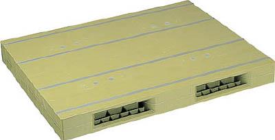 NPC プラスチックパレットZR-1113E 両面ニ方差し ライトグリーン【ZR1113ELG】 販売単位:1枚(入り数:-)JAN[-](NPC パレット) 日本プラパレット(株)【05P03Dec16】