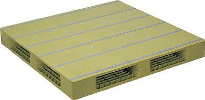 NPC プラスチックパレットZFR-1212E 両面四方差し ライトグリーン【ZFR1212ELG】 販売単位:1枚(入り数:-)JAN[-](NPC パレット) 日本プラパレット(株)【05P03Dec16】