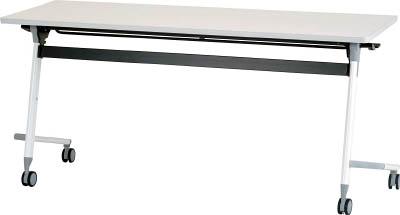 アイリスチトセ フライングテーブル 1500×600×700 ホワイト【CFVA20W】 販売単位:1台(入り数:-)JAN[4549043749003](アイリスチトセ 会議用テーブル) アイリスチトセ(株)【05P03Dec16】