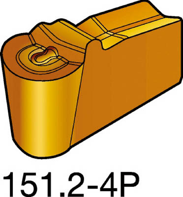 サンドビック T-Max Q-カット 突切り・溝入れチップ 525【N151.2300304P(525)】 販売単位:10個(入り数:-)JAN[-](サンドビック チップ) サンドビック(株)