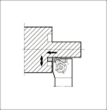 京セラ 溝入れ用ホルダ  【GFVTR2525M501C】 販売単位:1個(入り数:-)JAN[4960664010707](京セラ ホルダー) 京セラ(株)