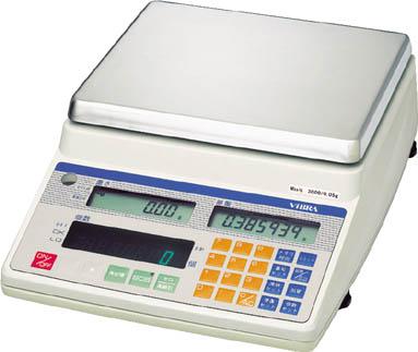 ViBRA 高性能カウンティングスケール 6000g【CUX26000A】 販売単位:1台(入り数:-)JAN[-](ViBRA はかり) 新光電子(株)【05P03Dec16】