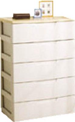 IRIS ウッドトップチェスト HG-805B ホワイト/ペアー【HG805B】 販売単位:1台(入り数:-)JAN[4905009498567](IRIS チェスト) アイリスオーヤマ(株) IRIS【05P03Dec16】, ダンボールの横井パッケージ:d5a147b2 --- officewill.xsrv.jp