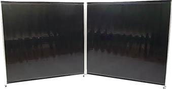 吉野 パピヨン1818型(遮光用)ダークグリーン【YSPAP1818DG】 販売単位:1台(入り数:-)JAN[4571163734058](吉野 溶接遮光フェンス) 吉野(株)【05P03Dec16】