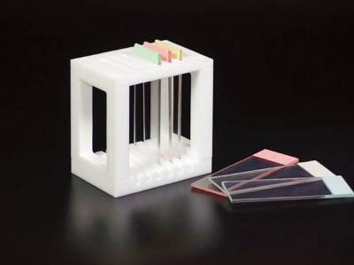 フロンケミカル スライドグラス用染色バット掛 65×50×75【NR136201】 販売単位:1個(入り数:-)JAN[-](フロンケミカル 実験用器具) (株)フロンケミカル【05P03Dec16】