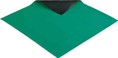 HOZAN 導電性カラ-マット 1×1M グリーン 補強繊維入り【F78】 販売単位:1巻(入り数:-)JAN[4962772090787](HOZAN 静電気対策マット・シート) ホーザン(株)【05P03Dec16】