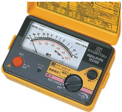 KYORITSU アラーム付絶縁抵抗計【MODEL3211】 販売単位:1個(入り数:-)JAN[4560187060977](KYORITSU 電気測定器) 共立電気計器(株)【05P03Dec16】