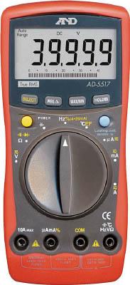 A&D デジタルマルチメーター高分解能、高機能形温度測定【AD5517】 販売単位:1個(入り数:-)JAN[4981046422505](A&D マルチメーター) (株)エー・アンド・デイ【05P03Dec16】