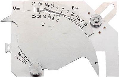 SK 溶接ゲージ【WGU9M】 販売単位:1個(入り数:-)JAN[4975846008182](SK ゲージ) 新潟精機(株)【05P03Dec16】