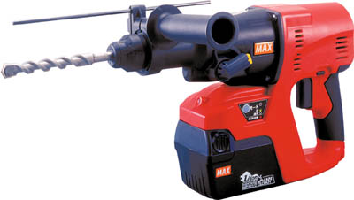 Two MAX 25.2V charge-type brushless hammer drill lithium ion battery combined sales unit belonging to: One (enter a number: -)JAN[4902870730802](MAX hammer drill) Max Co.,Ltd.