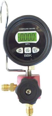 【驚きの値段】 販売単位:1台(入り数:-)JAN[4560160091981](BBK フロン回収用品) 文化貿易工業(株)【05P03Dec16】:マルニシオンライン 店 BBK シングルデジタルマニホールド R−410A用【WD2410CMB】-DIY・工具