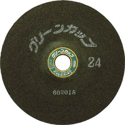 NRS グリーンカップ 180×6×22 ♯24【GCP180624】 販売単位:25枚(入り数:-)JAN[4532373002085](NRS 研削砥石) ニューレジストン(株)【05P03Dec16】
