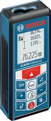 ボッシュ レーザー距離計【GLM80】 販売単位:1台(入り数:-)JAN[3165140608503](ボッシュ レーザー距離計) ボッシュ(株)【05P03Dec16】