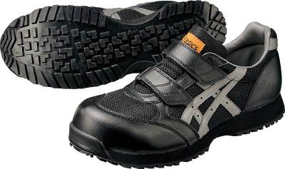 アシックス 静電気帯電防止靴 ウィンジョブE30S 黒Xグレー 29.0cm【FIE30S.907329.0】 販売単位:1足(入り数:-)JAN[4548536029738](アシックス 静電作業靴) アシックスジャパン(株)【05P03Dec16】