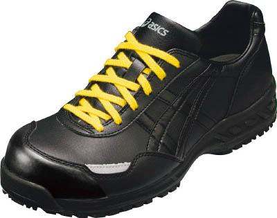 アシックス 静電気帯電防止靴 ウィンジョブE50S 黒X黒 26.0cm【FIE50S.909026.0】 販売単位:1足(入り数:-)JAN[4989403940310](アシックス 静電作業靴) アシックスジャパン(株)【05P03Dec16】