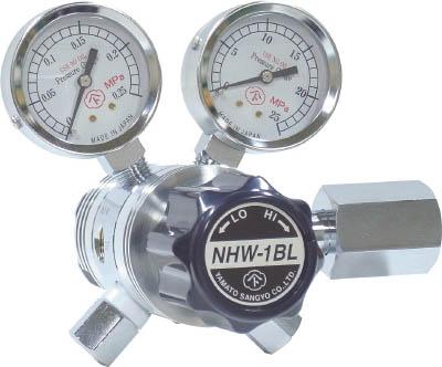 分析機用フィン付二段微圧調整器 NHW-1BL【NHW1BLTRC】 販売単位:1個(入り数:-)JAN[4560125829642](ヤマト ガス調整器) ヤマト産業(株)【05P03Dec16】