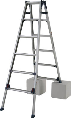 ピカ 四脚アジャスト式脚立かるノビSCL型5~6尺【SCL180A】 販売単位:1台(入り数:-)JAN[4989247380044](ピカ 脚立) (株)ピカコーポレイション【05P03Dec16】
