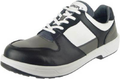 シモン安全靴 トリセオシリーズ 短靴 黒/グレー 28.0【8512BKGR28.0】 販売単位:1足(入り数:-)JAN[4957520155290](シモン 安全靴) (株)シモン【05P03Dec16】