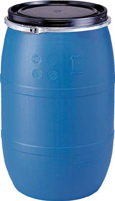 サンコー プラドラムオープンタイプPDO120L-1青【SKPDO120L1BL】 販売単位:1台(入り数:-)JAN[4983049801288](サンコー ドラム缶) 三甲(株)【05P03Dec16】