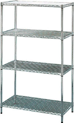 IRIS メタルラック(ポール径25) 910×460×1510【MR9015J】 販売単位:1台(入り数:-)JAN[4905009061969](IRIS メッシュ棚) アイリスオーヤマ(株)【05P03Dec16】