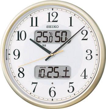 SEIKO 電波掛時計 P枠【KX384S】 販売単位:1個(入り数:-)JAN[4517228035098](SEIKO 掛時計) セイコークロック(株)【05P03Dec16】