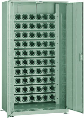 TRUSCO ツーリング保管庫 BT・NT50用X70個 スチール戸 ロック付【VTL1800DBT50】 販売単位:1台(入り数:-)JAN[4989999669732](TRUSCO ツーリングラック) トラスコ中山(株)【05P03Dec16】